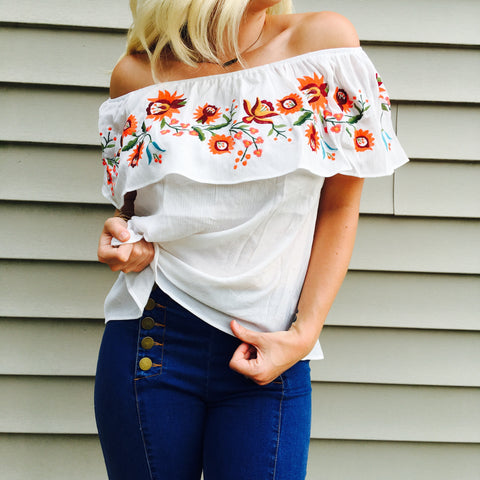 Cabo Off the Shoulder Top
