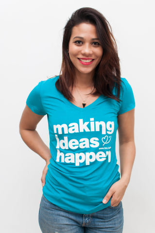 "Camiseta FCC ""Making Ideas Happen"" (Mujer)"