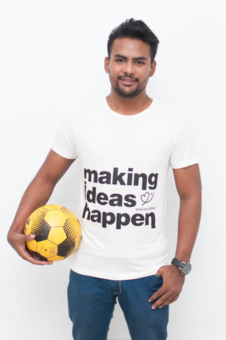 "Camiseta FCC ""Making Ideas Happen"" (Hombre)"