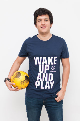 "Camiseta FCC ""Wake Up and Play"" (Hombre)"