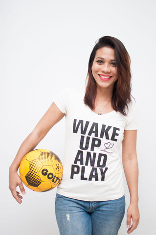 "Camiseta FCC ""Wake Up and Play"" (Mujer)"