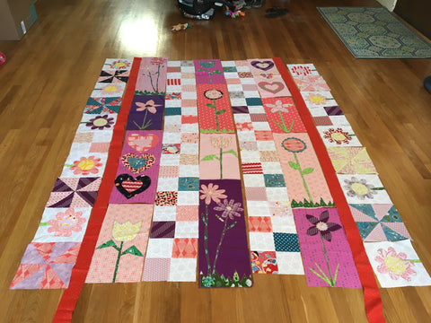 Quilt Top Piecing