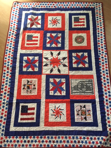 Quilt detailed picture
