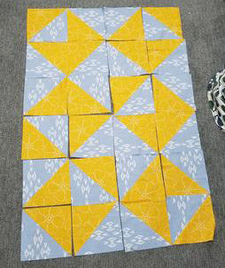 Envelope Quilt Top
