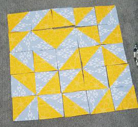 Triangle Quilt Top - Random