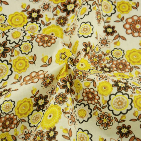 Vintage Flowered Prints - PREMIUM Sewing Fabric