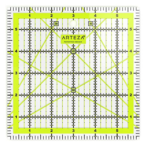 Quilting Ruler - Inches