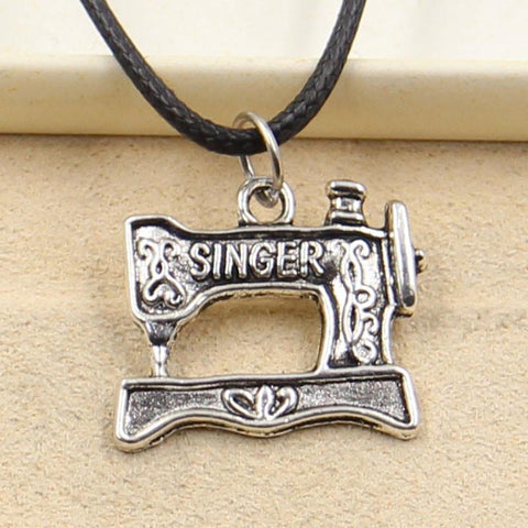 Singer Sewing Machine Pendant