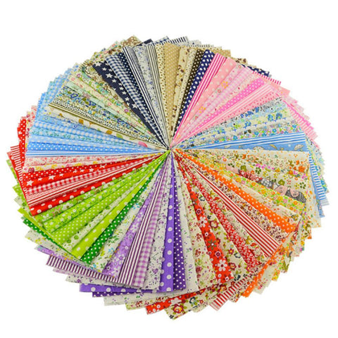 Charm Pack - 100 Piece Lot Patchwork Fabric
