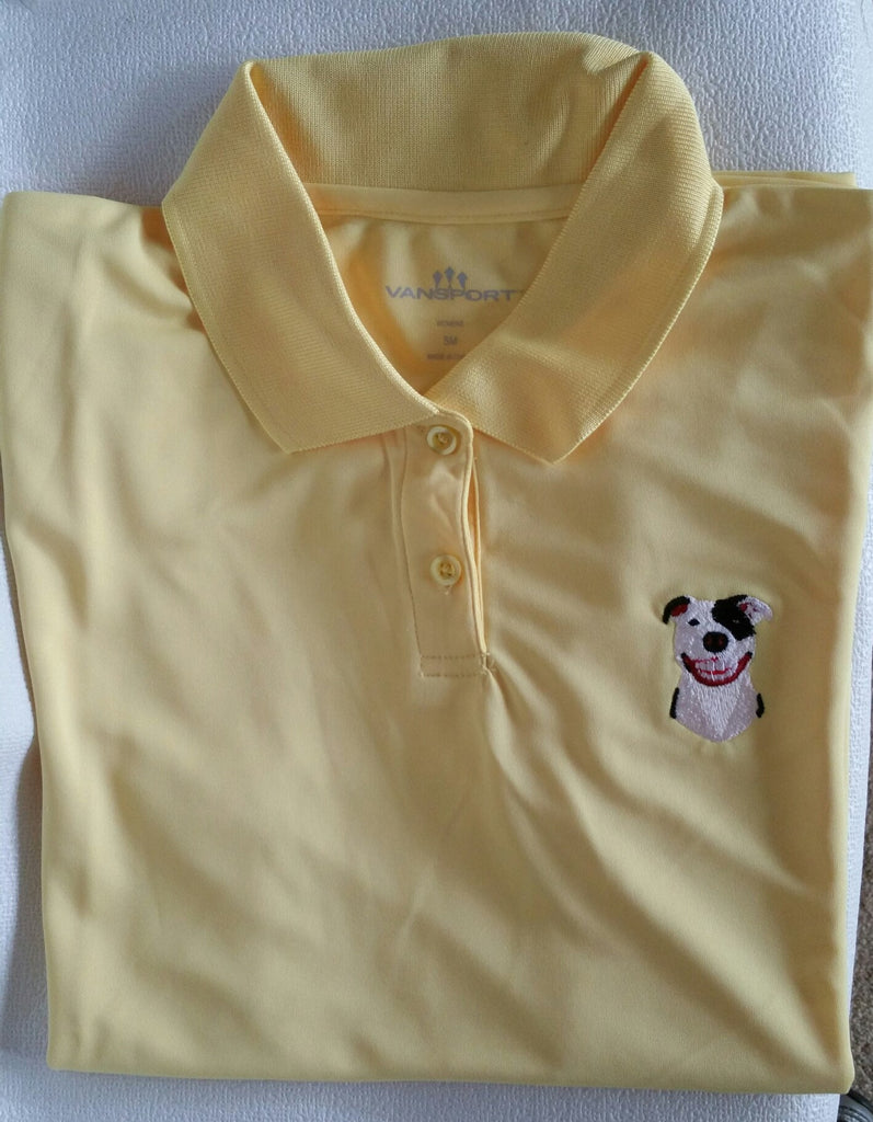 Yellow Women's  Performance Polo