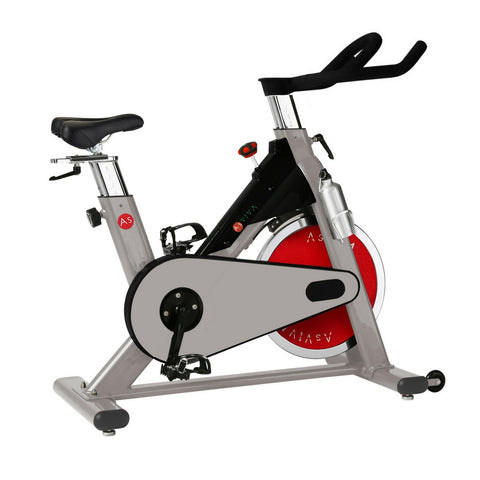 AsVIVA - Heimtrainer, Indoor Cycle, Cardio S8 Pro