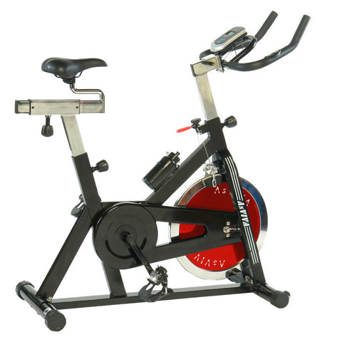 AsVIVA - Heimtrainer, Indoor Cycle, Speedbike, S2