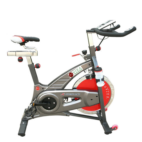 AsVIVA - Heimtrainer, Indoor Cycle Cardio S7