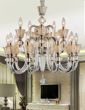 Alaina 15 Light Chandelier (Champagne)