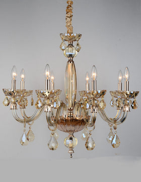 Albertine 8 Light Chandelier (Champagne)