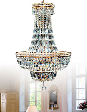 Alexandra 12 Light Crystal Chandelier