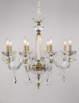 Albertine 8 Light Chandelier (Clear)