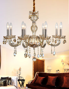 Gloria 8-Light Chandelier (Champagne)
