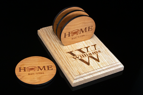 Personalized Coaster Set - Maryland Theme