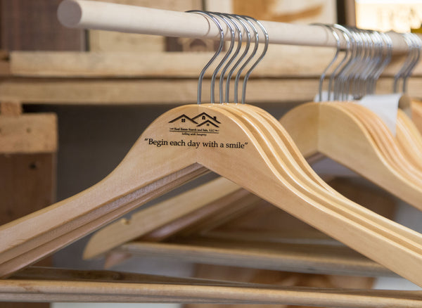 Personalized Clothes Hanger Set