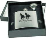 Personalized Flask Gift Set with Funnel