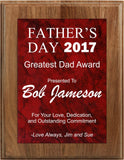 Plaque - Personalized Father's Day