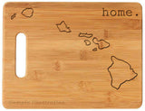 Bamboo Cutting Board - State Pride
