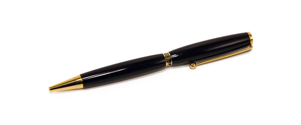 Handcrafted African Blackwood Pen