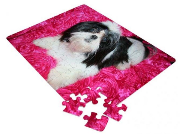 "7"" x 10"" Personalized 60-Piece Photo Puzzle"