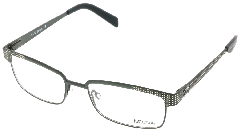 Just Cavalli  Olive Green Rectangle Optical Frames