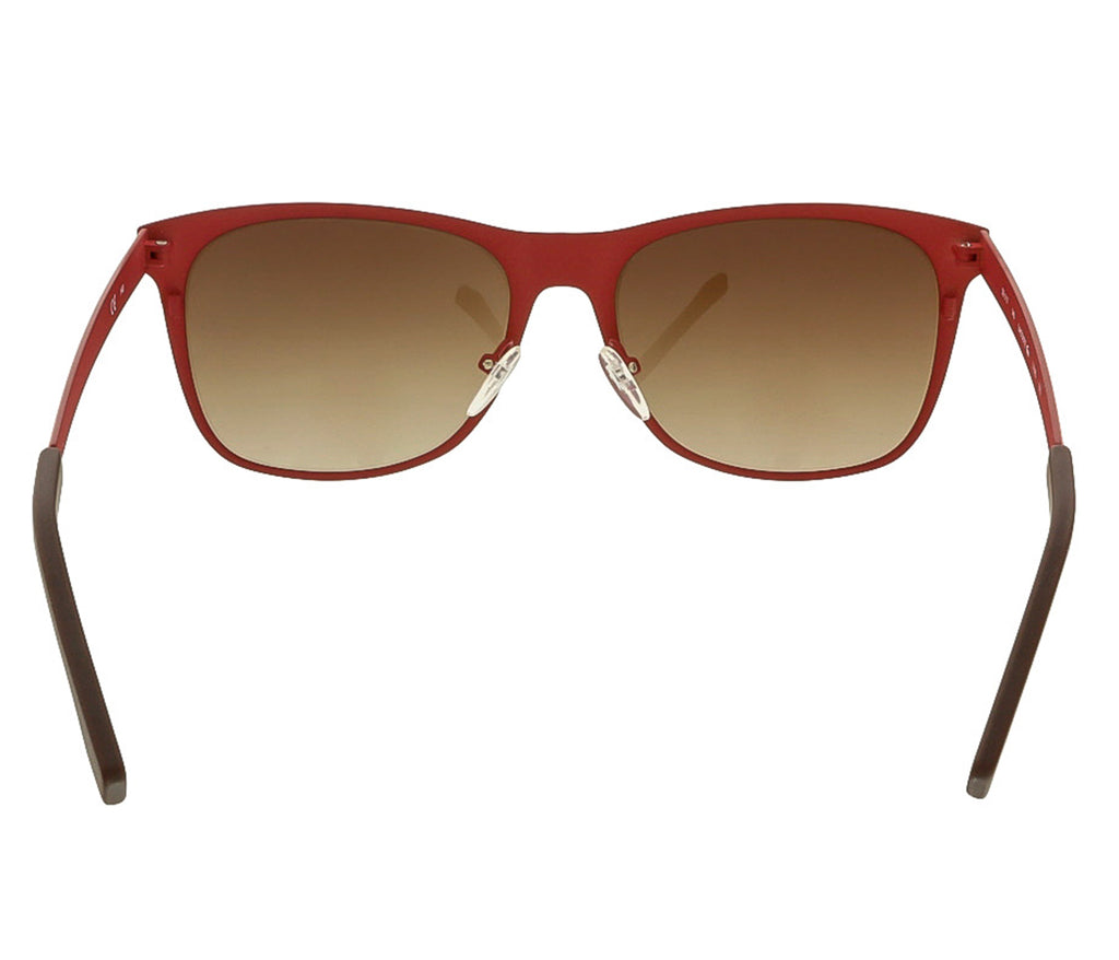 Lacoste L169S 615 Red Rectangle Sunglasses