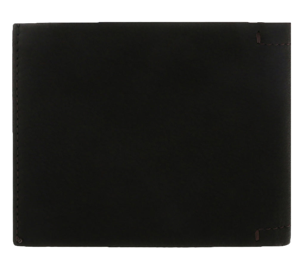 Luciano Barbera CLUB GINO MR Brown Leather Wallet