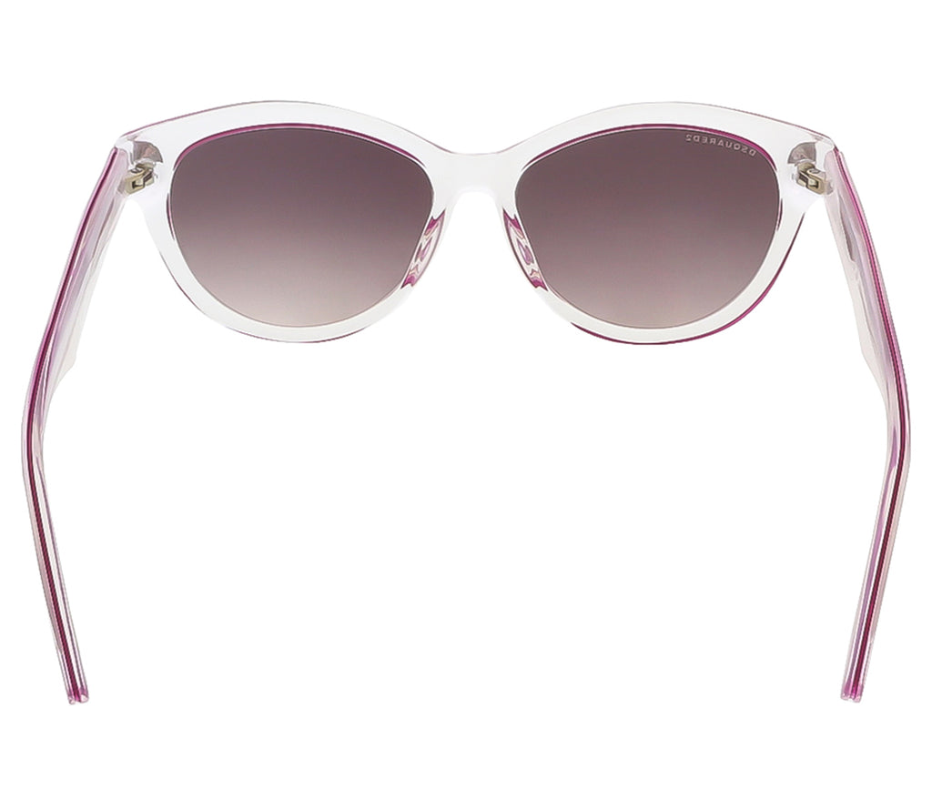 Dsquared DQ0173/S 27C Crystal/Pink Butterfly sunglasses