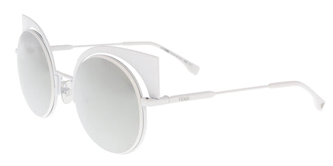 Balenciaga BA0002S 01B Grey/Black Round sunglasses