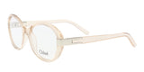 Chloe  Champagne Rectangle Opticals