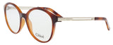 Chloe  Havana Rectangle Opticals