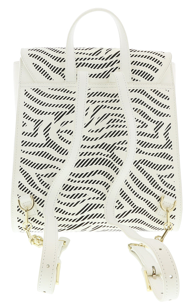 Roberto Cavalli GQLPA2 B20 White/Black Audrey 004 Backpack