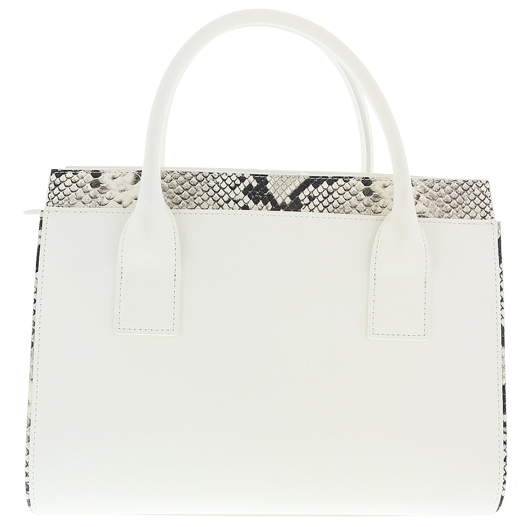 Class Roberto Cavalli  White Medium Handbag LUCILLE 002