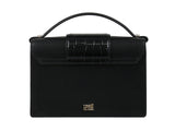 Roberto Cavalli Class GWLPEU B13 Jane 001 Black/Silver Small Shoulder Bag