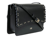 Roberto Cavalli Class  Leolace 003 Black Shoulder Bag