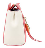 Roberto Cavalli Class GWLPD4 T35 Brigitte 00 Peach/Ivory Small Shoulder Bag