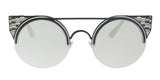 Bulgari BV6088 239/6G black Cat eye Sunglasses