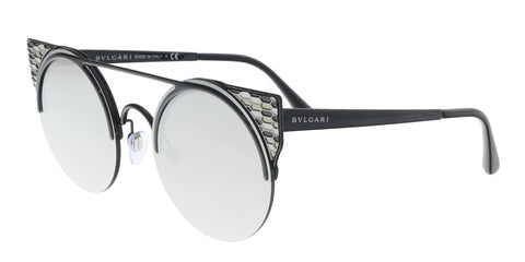 Bulgari BV8180BF 501/8G Black Square Sunglasses