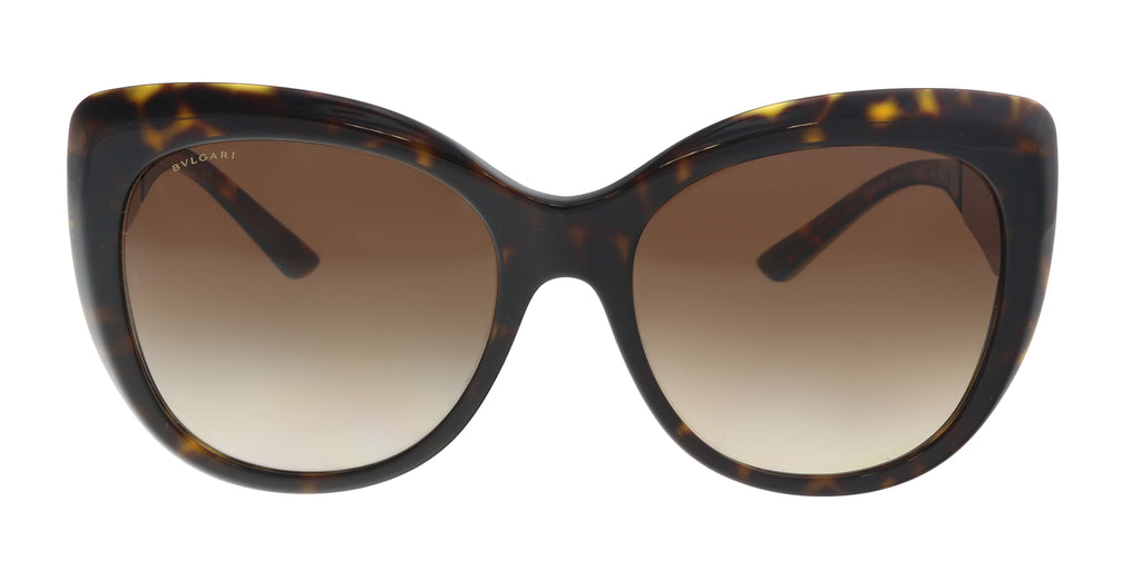 Bulgari BV8198B 544113 Dark Havana Butterfly Sunglasses