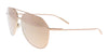 Dolce & Gabbana  Gold Aviator Sunglasses
