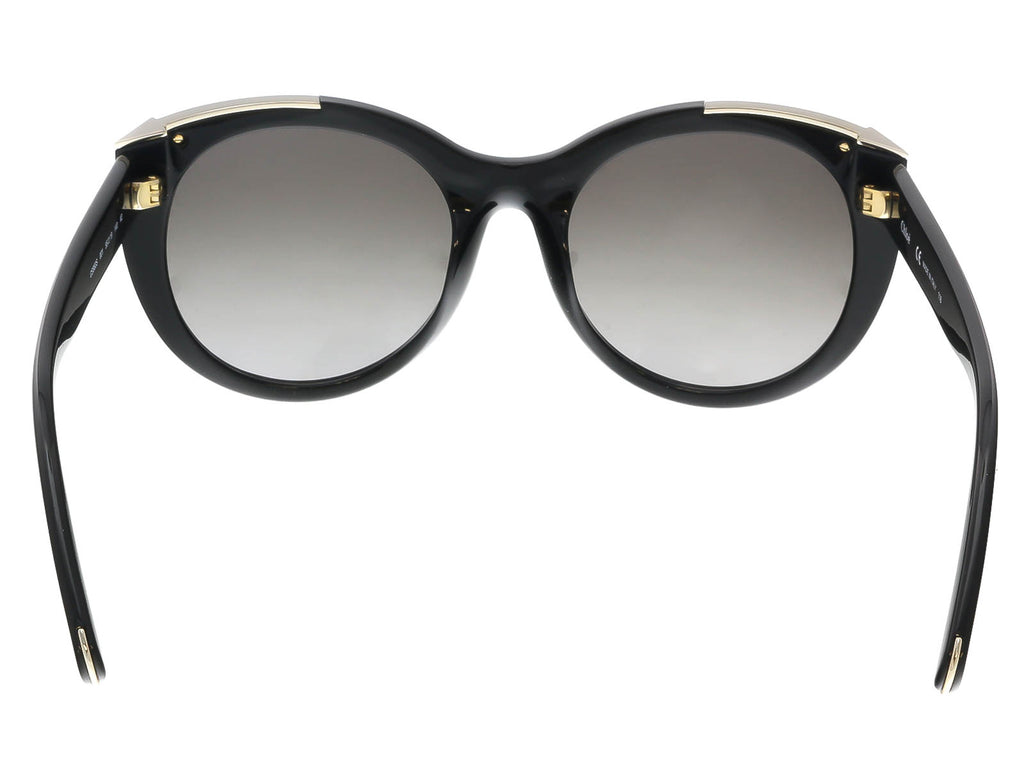 Chloe CE660S 001 Black Round Sunglasses