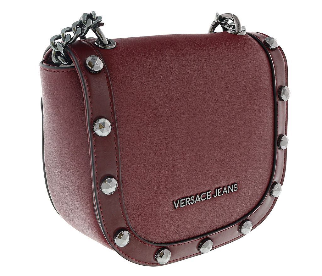 Versace  Oxblood Shoulder Bag