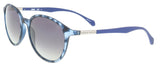 BOSS  Grey blue Oval Sunglasses