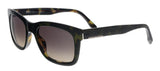 BOSS  Havana Green Rectangular Sunglasses