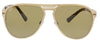 Bulgari BV5043TK 203983 Gold Aviator Sunglasses